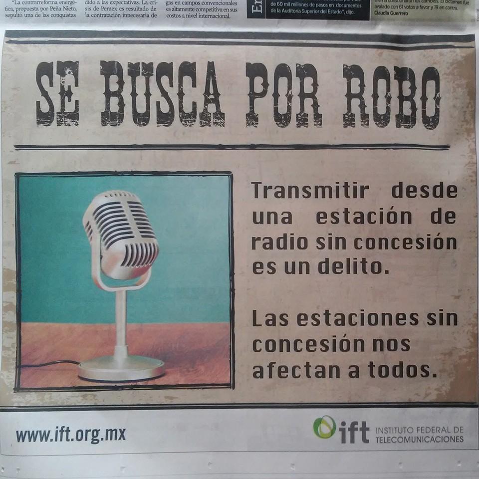 IFT criminaliza radios comunitarias