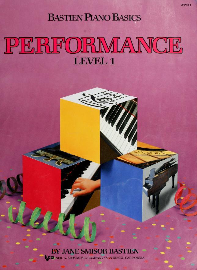 Bastien Piano Basics   Performance  Level 2 by Jane Smisor Bastien