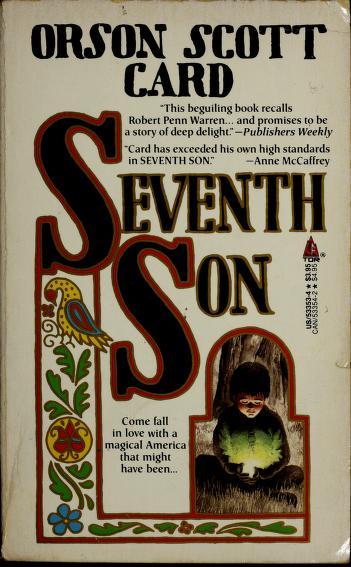Cover of: Seventh son | Orson Scott Card